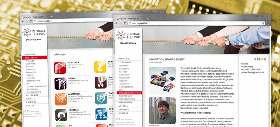 Webtexte Tübingen, Stuttgart