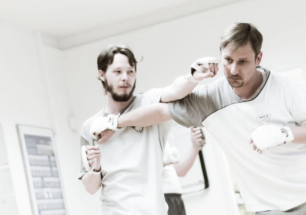 Fotoserie Kampfsport WingTsun-Schule