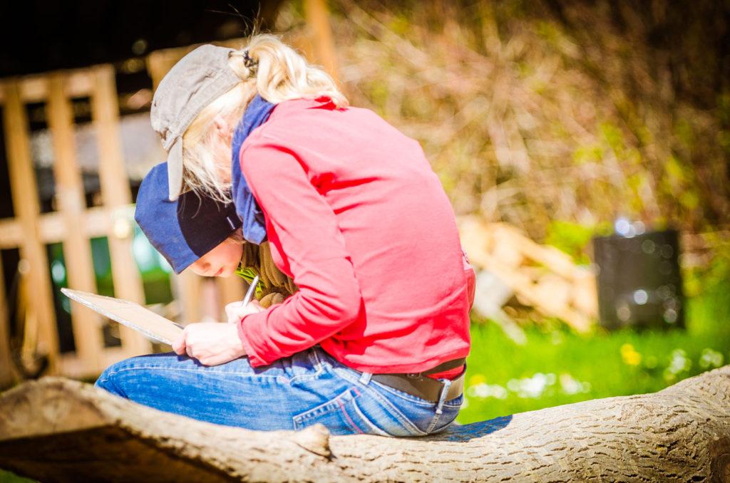 Fotoserie für Waldkindergarten